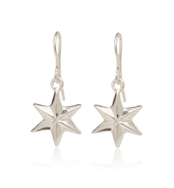 Star, Earring, Sterling,silver, Kerry, Rocks, Jewellery