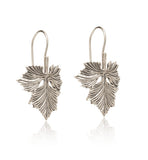 oak, leaf, earring, silver, kerry, rocks, jewellery