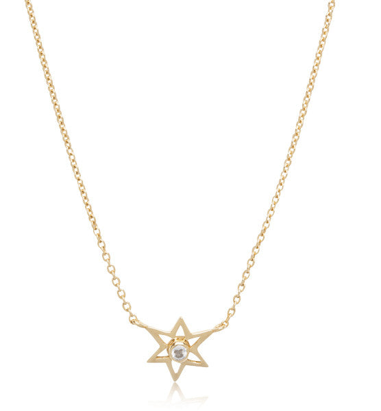 Star, Gem, Necklace, Silver, Topaz, Gold,  Kerry, Rocks,