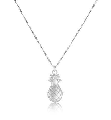 Pineapple Locket, Silver