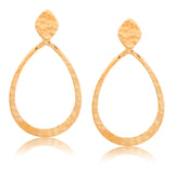 Audrey Earring Large, Gold