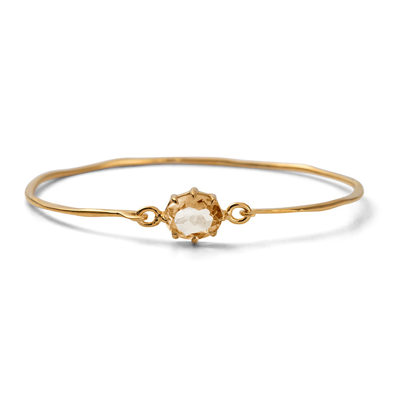 Marie Bangle, Citrine, Gold