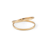 Duel Band, 9kt Yellow Gold