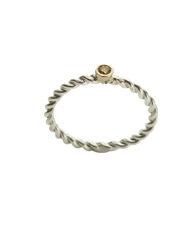 Twistie, Band, 9kt, Gold, Champagne, Diamond, kerry, rocks ,jewellery