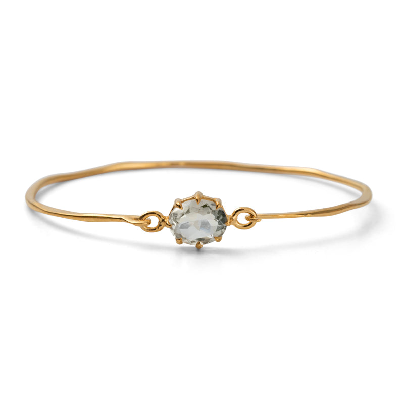 Marie Bangle, Prasiolite, Gold
