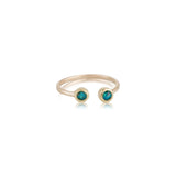Cosmos Opal Ring, 9kt Yellow gold