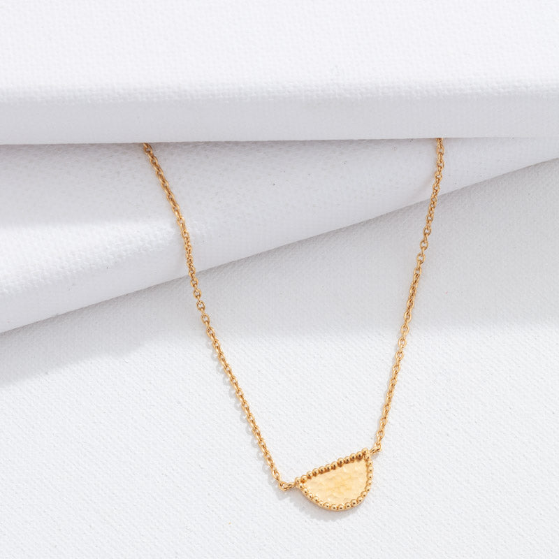 Amulet Necklace, Gold