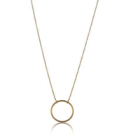 Eclipse Necklace, Gold