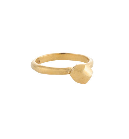 Faceted Ring, Gold