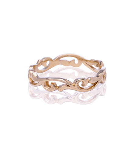 Holly Band, 9kt Rose Gold