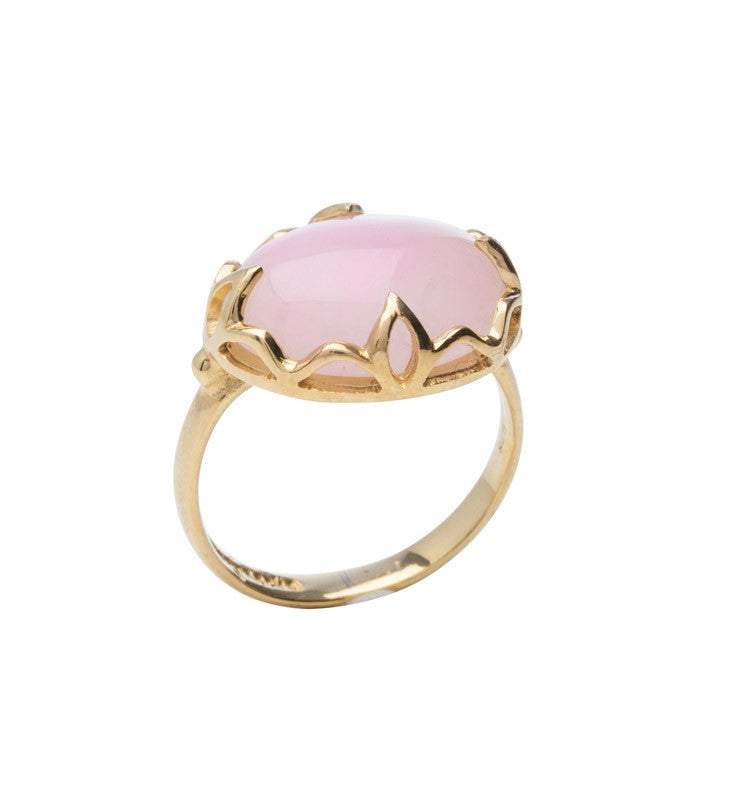 Pink, Opal, Jali, Ring, Gold, Kerry, Rocks, Jewellery