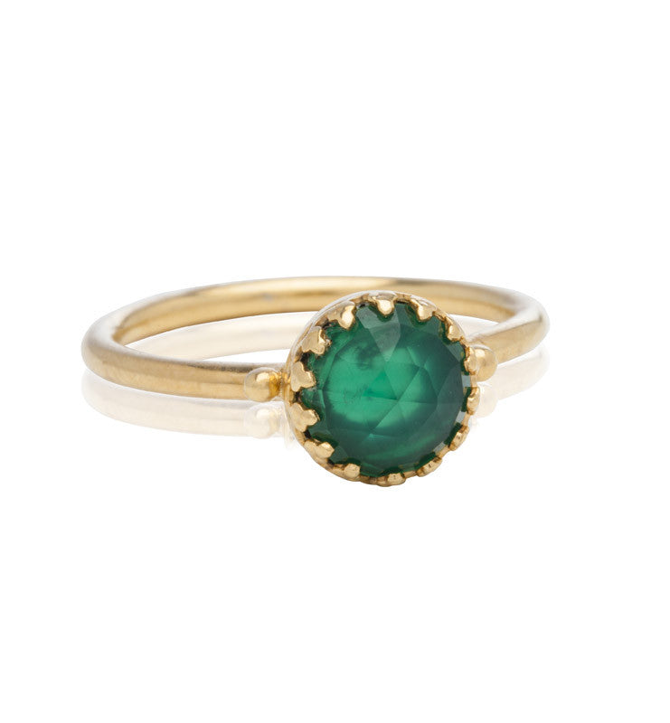 Priya, Ring, Green, Onyx, Gold, Kerry, Rocks, Jewellery, Jewelry