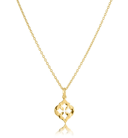 Sibille Pendant, Gold