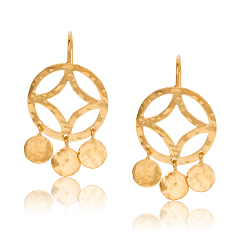 Alexi Earring, Gold