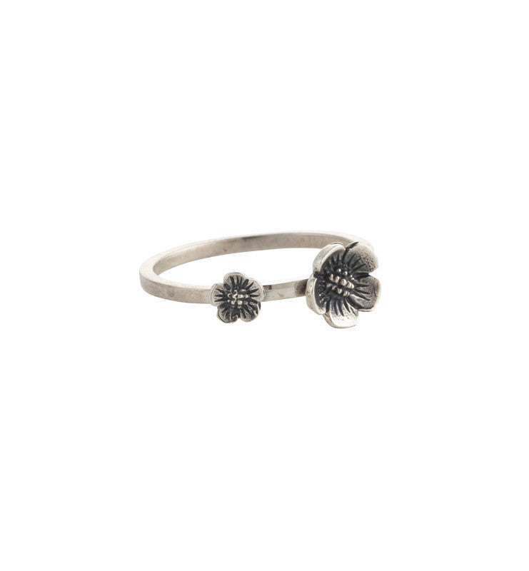 Blossom, Ring, Silver, Kerry, Rocks, Jewellery