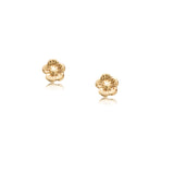 Blossom Studs, 9kt Gold