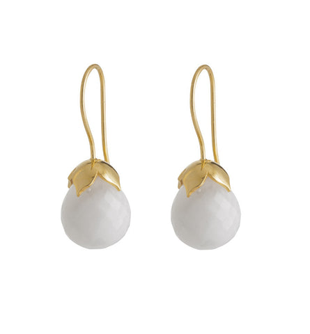 white, quartzite, gold, bridal, earrings, kerry, rocks, jewellery, jewellery