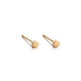 Eclipse Mini Stud, 9kt Yellow Gold