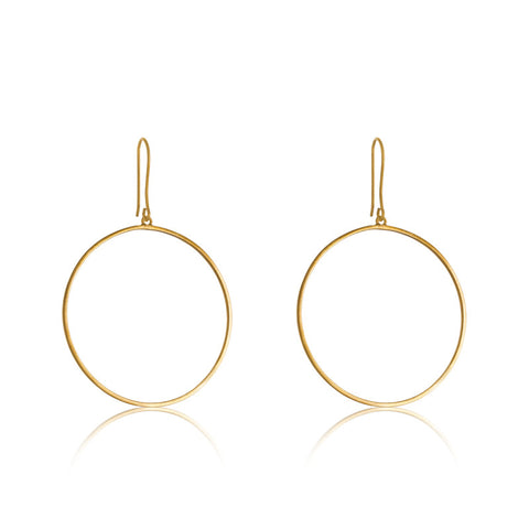 Eclipse Earring, Gold