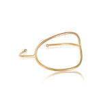 Ellipsis Cuff, Gold