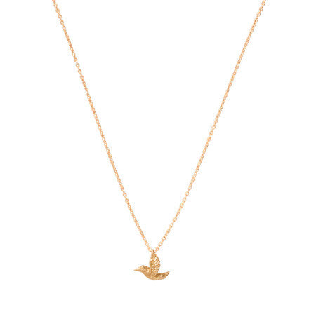 Fine, Hummingbird, Necklace, Gold, Kerry, Rocks, Jewellery
