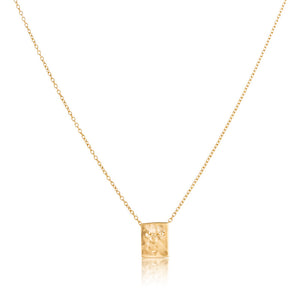 Fine Platelet Necklace, Gold