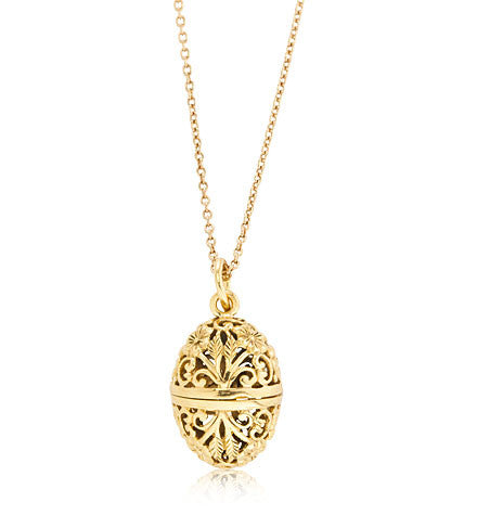 Floral, Locket, Gold, Kerry, Rocks