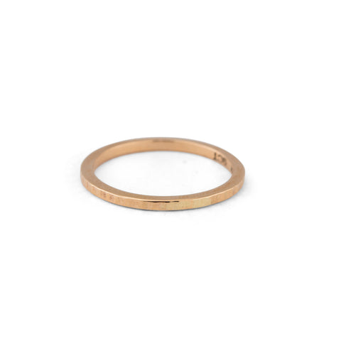 Forged Band, 9kt Yellow Gold