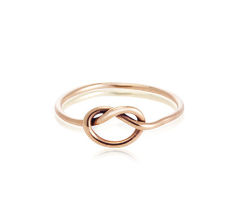 Love, Knot, Ring, 9kt, Rose, Gold,Kerry, Rocks,jewellery, jewellery