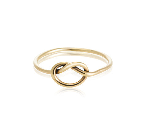 Love, Knot, Ring, 9kt, Yellow, Gold,Kerry, Rocks, Jewellery, Fine, Jewelry