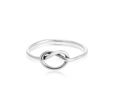 Love Knot Ring, Silver