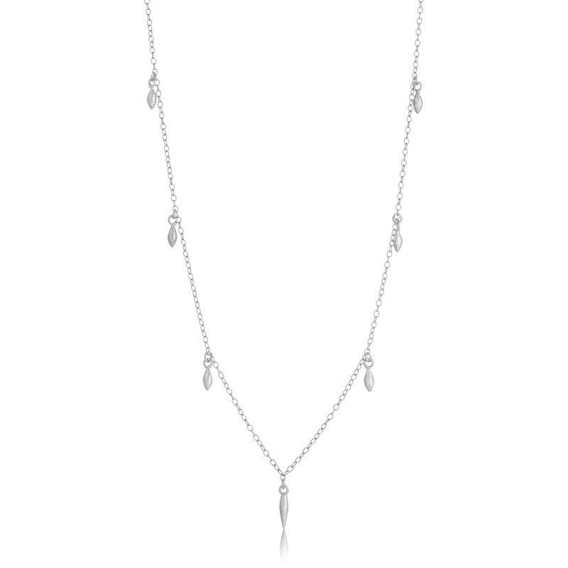Mercy Necklace, Short, Silver
