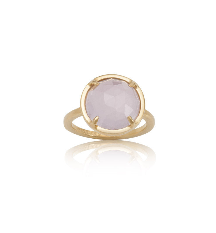 Phoebe, Ring, Pink, Onyx, Gold, Kerry, Rocks, Jewellery