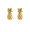 Pineapple, Studs, Gold, Kerry, Rocks, Jewellery