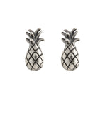 Pineapple Stud, Silver