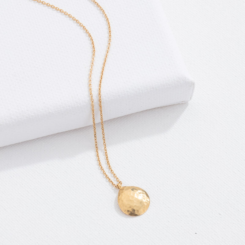 Dune Necklace, 9kt Yellow Gold
