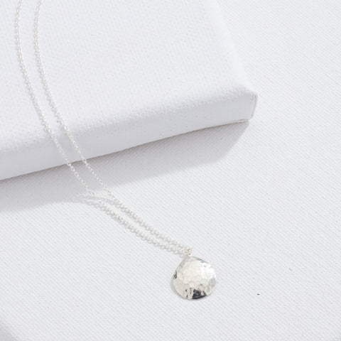 Dune Necklace, Silver