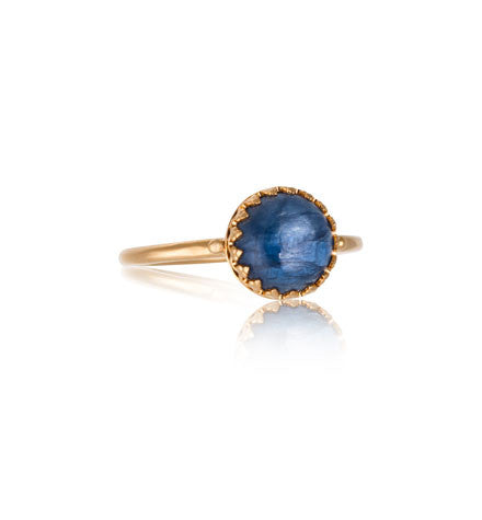 Priya Ring, Kyanite, Gold