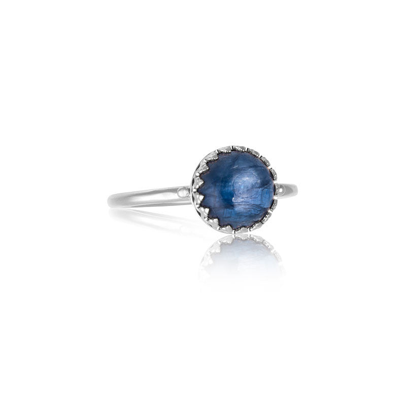 Priya Ring, Kyanite, Silver