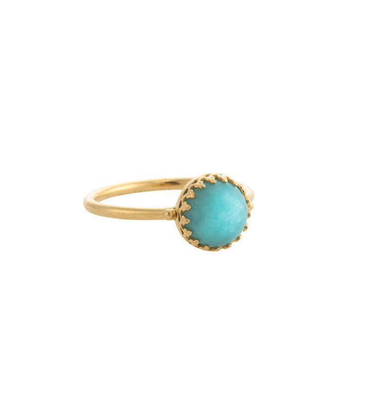Priya, Ring, Amazonite, Gold, Kerry, Rocks, Jewellery, Jewelry