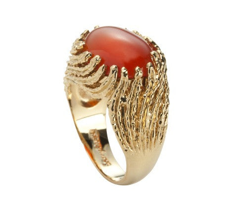 Seraphina Ring, Red Onyx