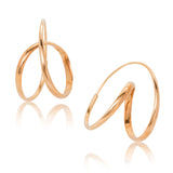 Ribbon Hoops, Gold
