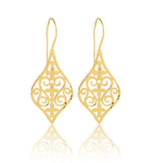 Roma Earring, Gold