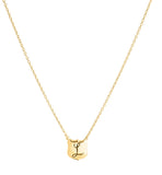 Signet Necklace, L , Gold