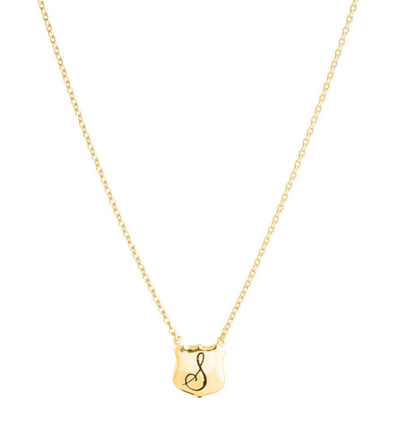 Signet, Personalized, Necklace, S , Gold, Kerry, Rocks, Jewellery,