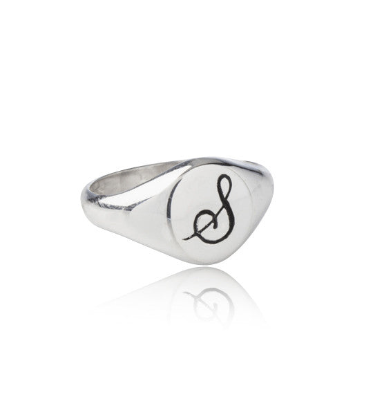 Signet Ring, S, Silver