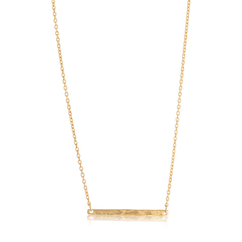Skinny Necklace, Gold
