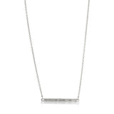 Skinny Necklace, Silver