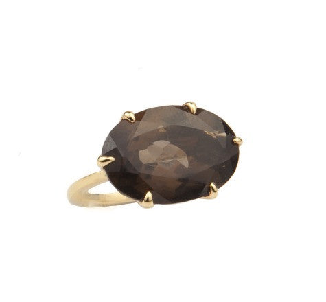 GiGi Ring, Smokey Quartz