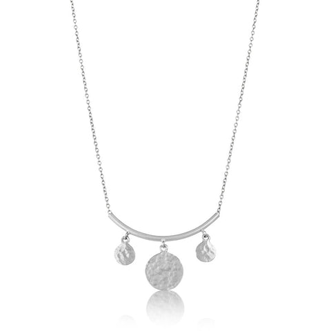 Solaris Necklace, Silver